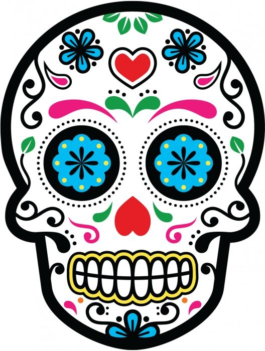make your own coloring pages from photos - dessin tete de mort
