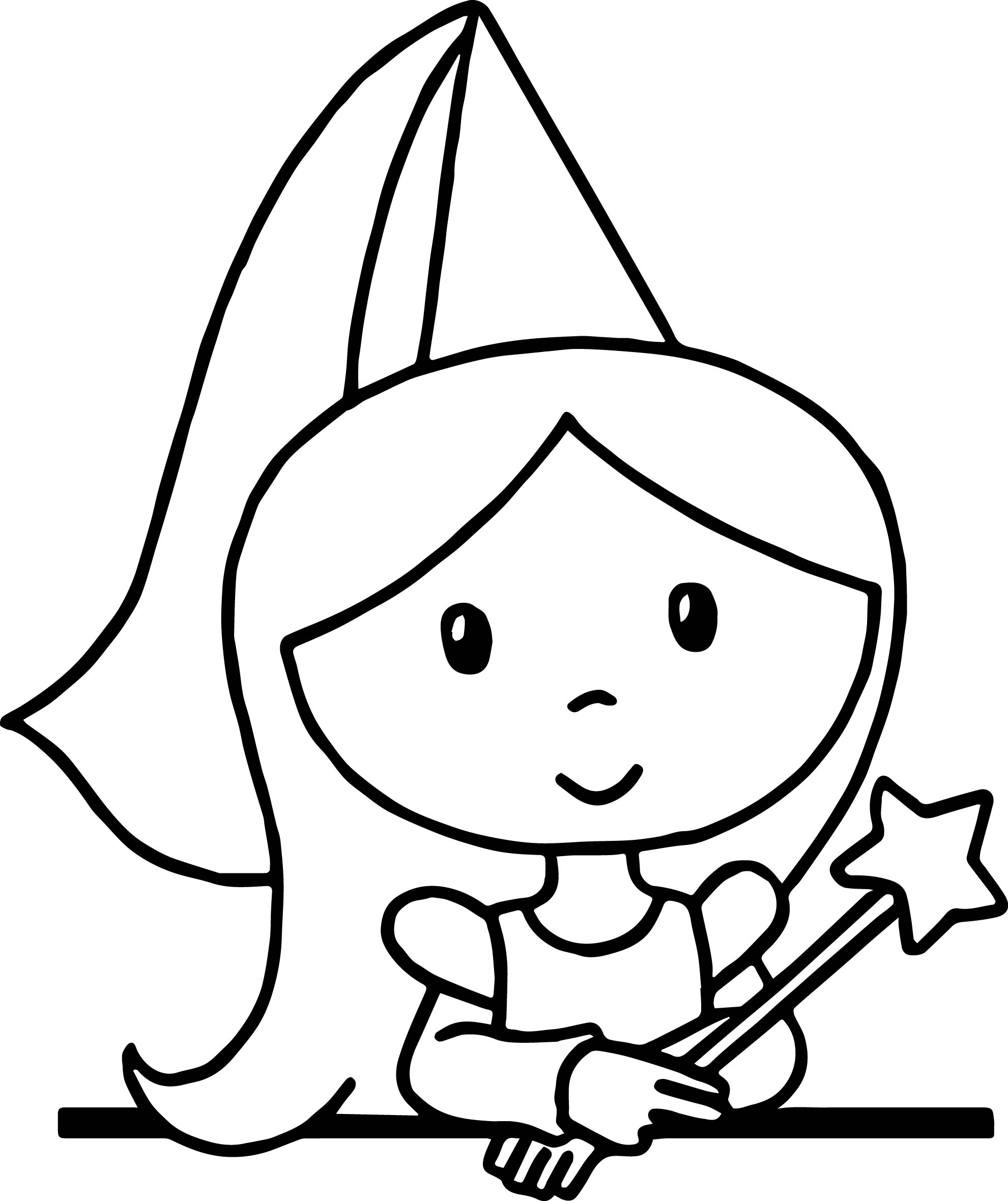 make your own coloring pages from photos - cute cartoon princess standing coloring page