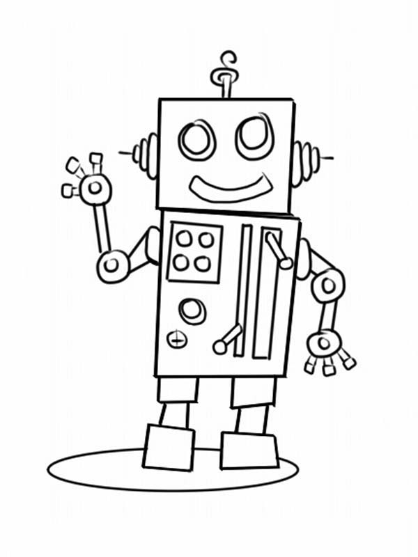 make your own coloring pages - make your own robot coloring pages 2