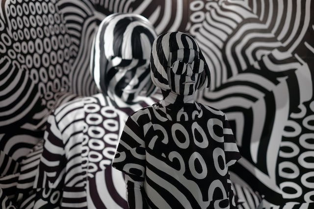 makeup coloring pages - dazzle camouflage room sized optical illusion
