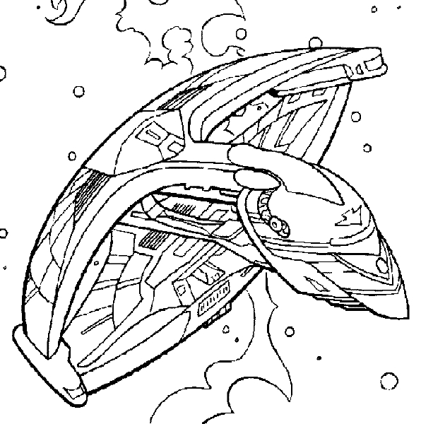 mal coloring pages - star trek