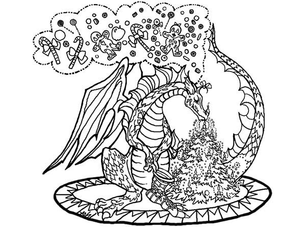 maleficent coloring pages - chinese dragon
