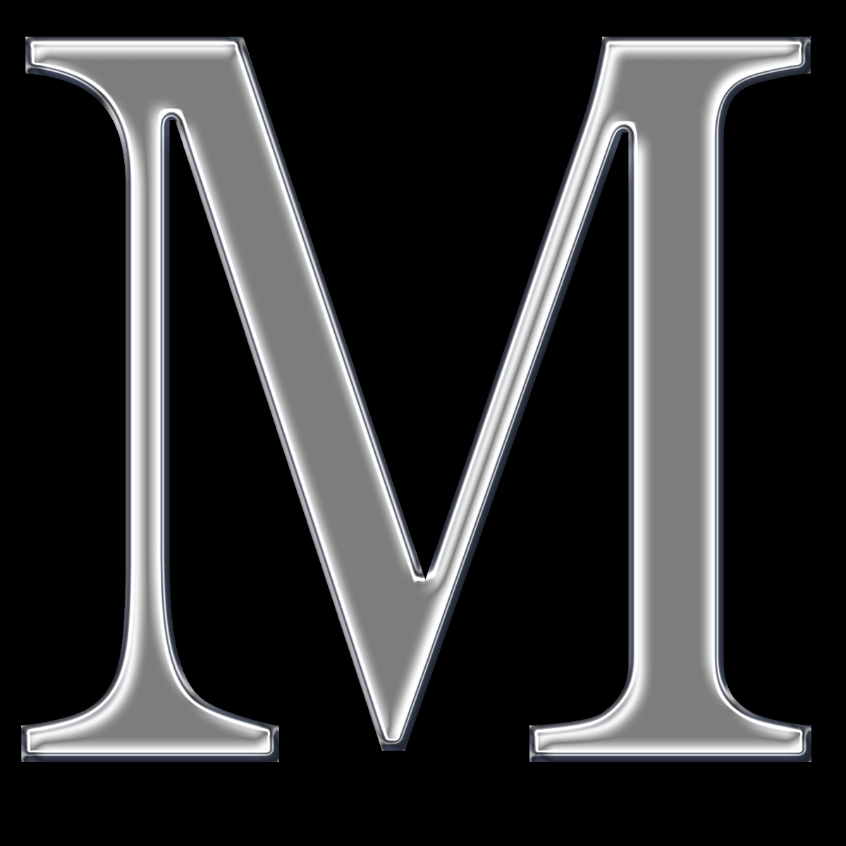 m&m coloring pages - the letter m
