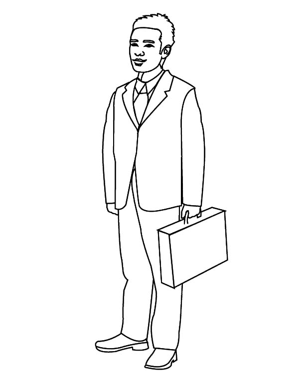 Man Coloring Pages - Business Man Coloring Pages Business Man Coloring Pages