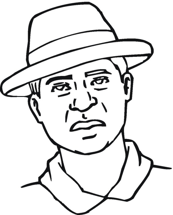 man coloring pages - man8tml