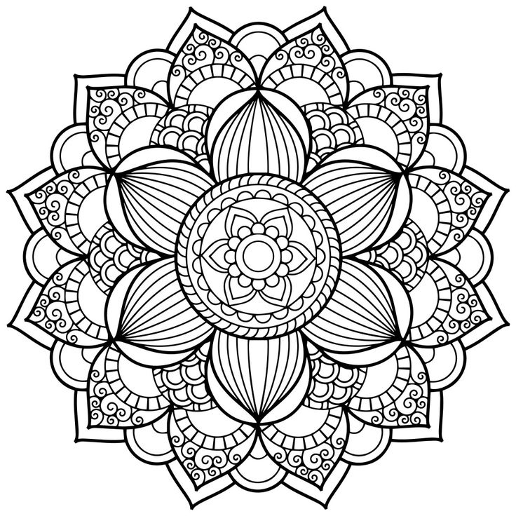 mandala coloring pages printable - mandala coloring