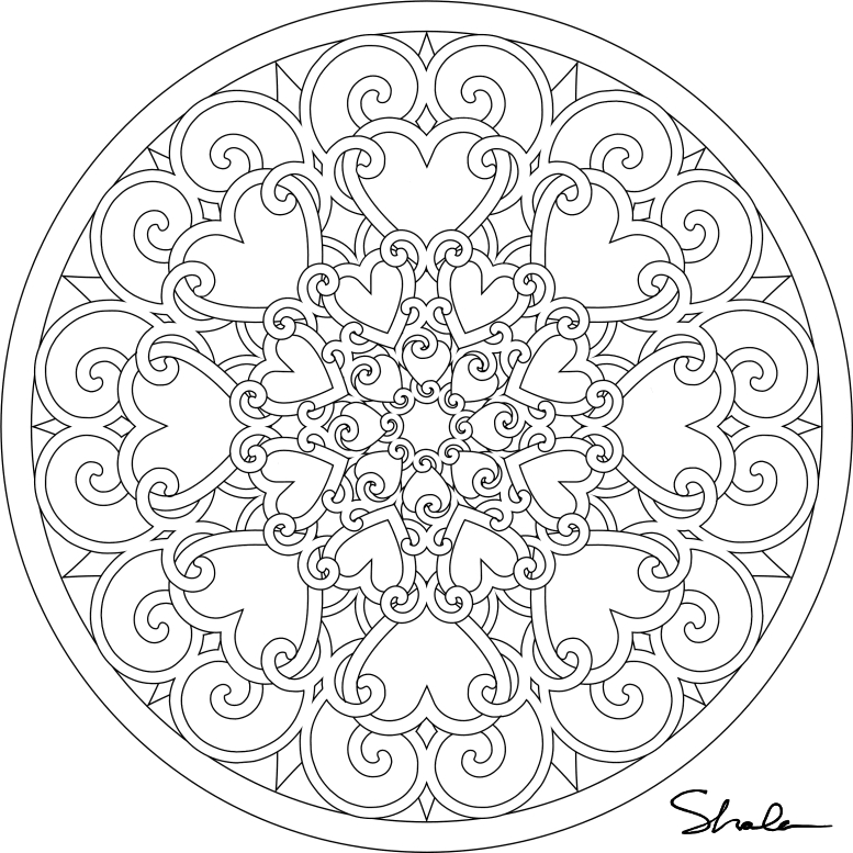 mandala coloring pages printable - free mandala coloring pages for adults