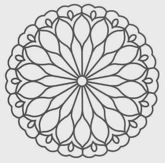 mandala coloring pages printable - free printable mandala coloring pages