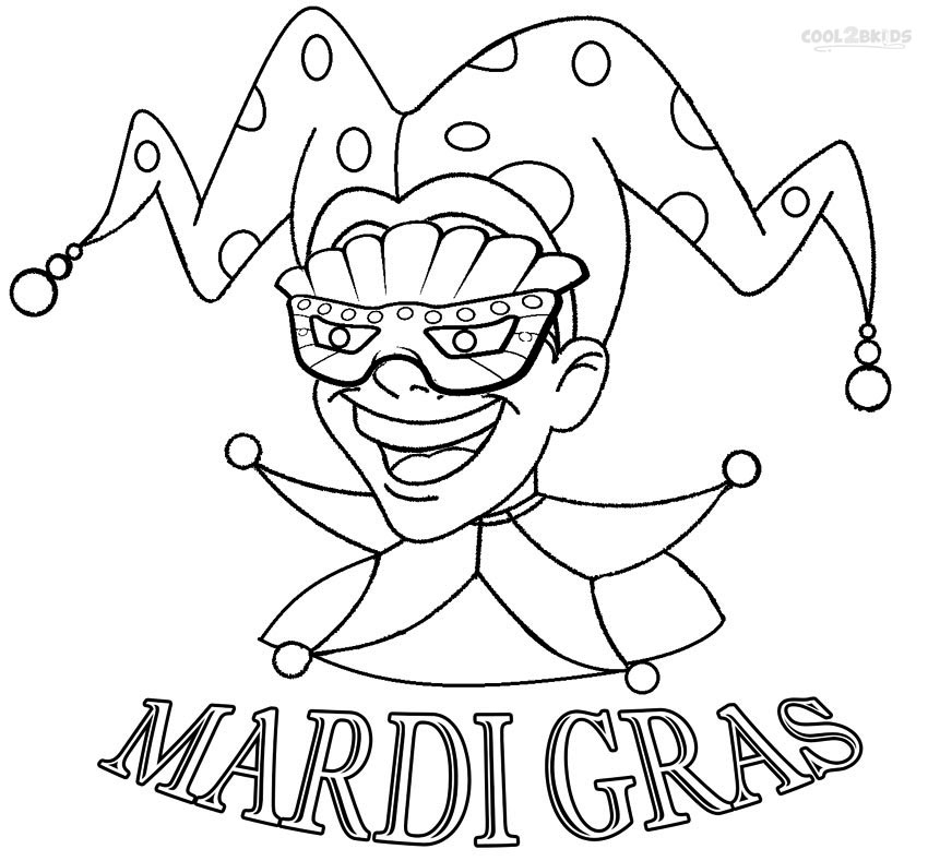 mardi gras coloring pages - mardi gras crown coloring pages sketch templates