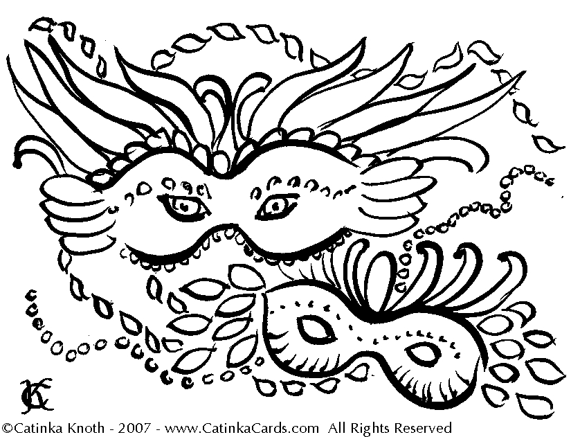 Mardi Gras Mask Coloring Page - Free Mardi Gras Coloring Pages Coloring Home