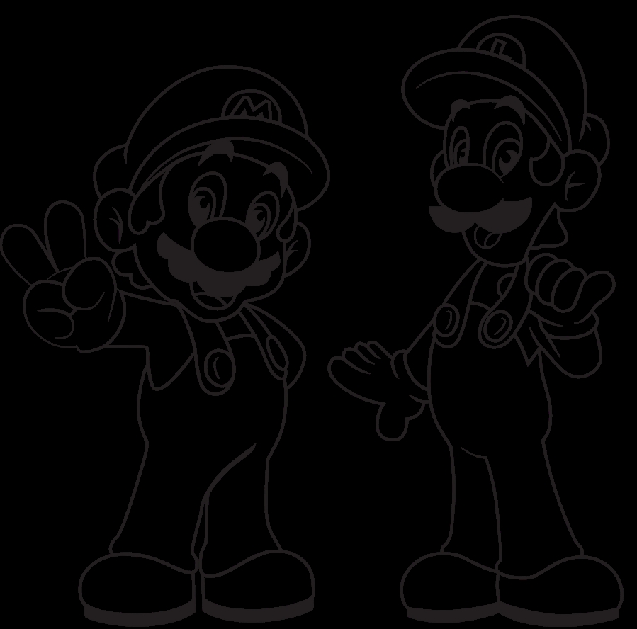 Mario Brothers Coloring Pages - Coloring Pages Mario Bros Imagui