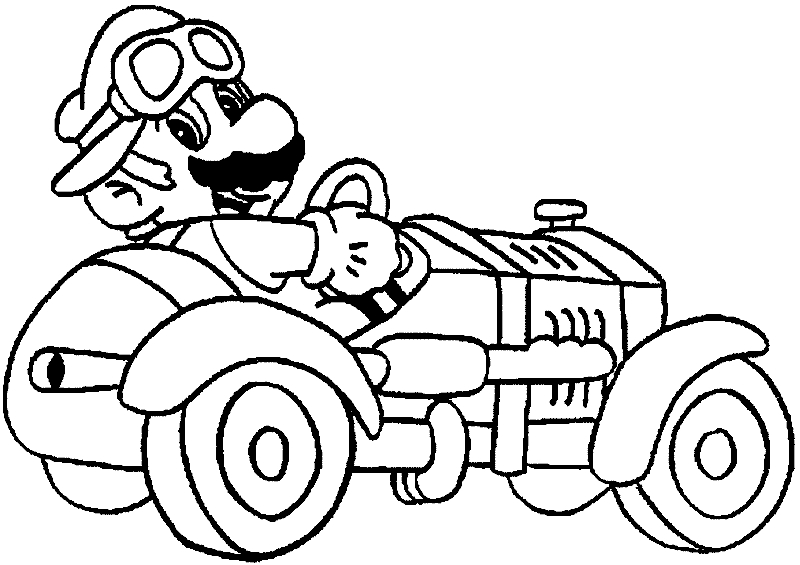 mario brothers coloring pages - mario brothers coloring pages
