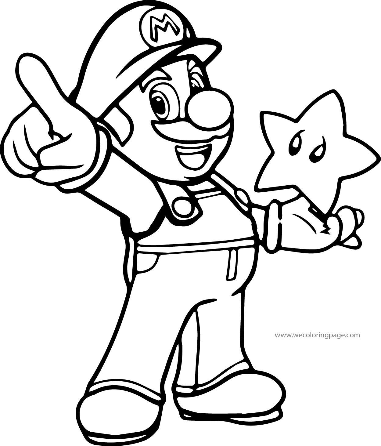 mario coloring pages -