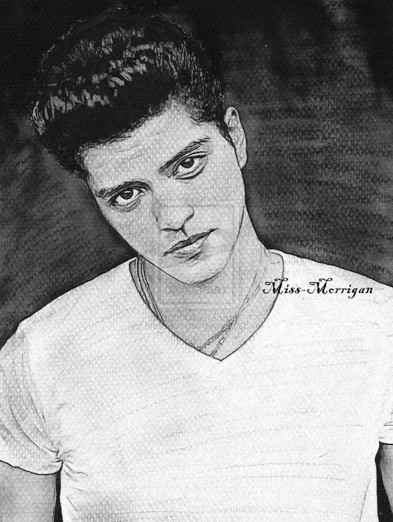 Mars Coloring Pages - Bruno Mars by Miss Morrigan On Deviantart