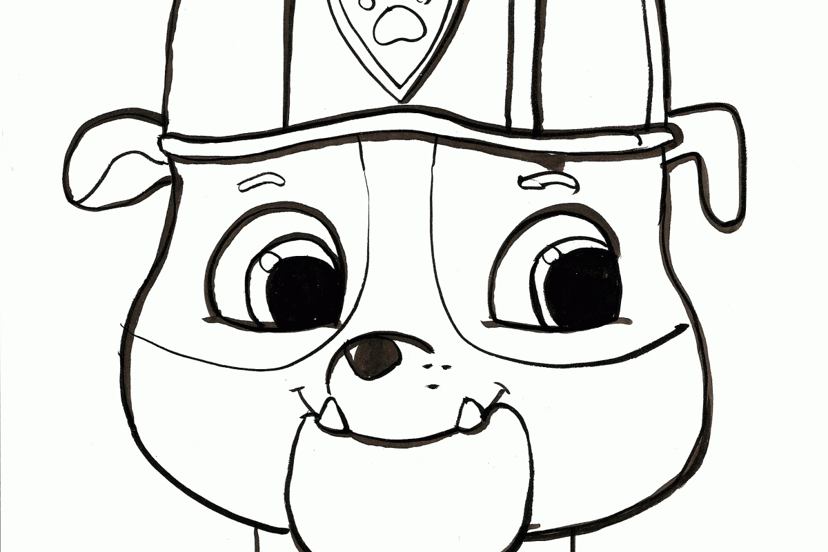 Paw Patrol Ausmalbilder Paw Patroller : 20 Marshall Paw Patrol Coloring Page Compilation Free Coloring
