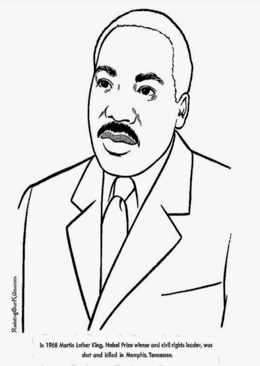 martin luther king coloring pages - martin luther king coloring sheets