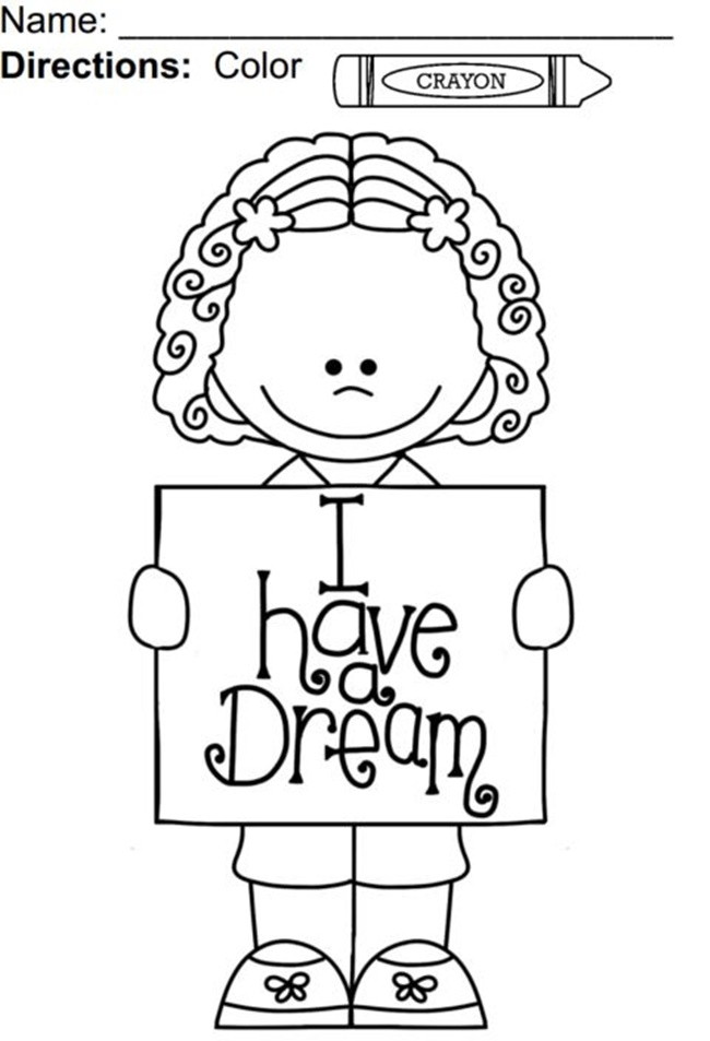 martin luther king jr coloring pages - martin luther king jr coloring pages worksheets