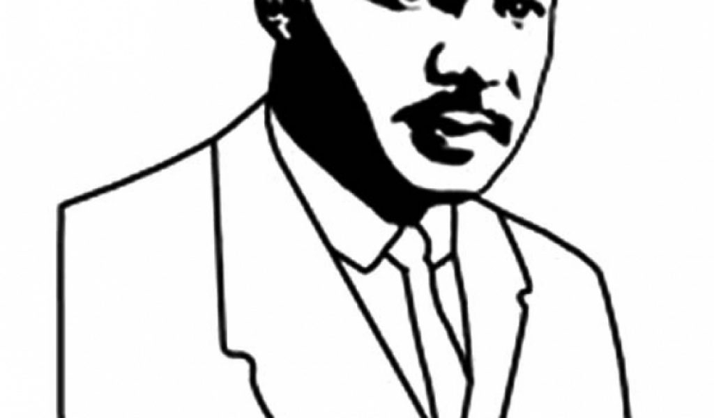 martin luther king jr coloring pages printable - kids printable martin luther king jr coloring pages free online p2s2s