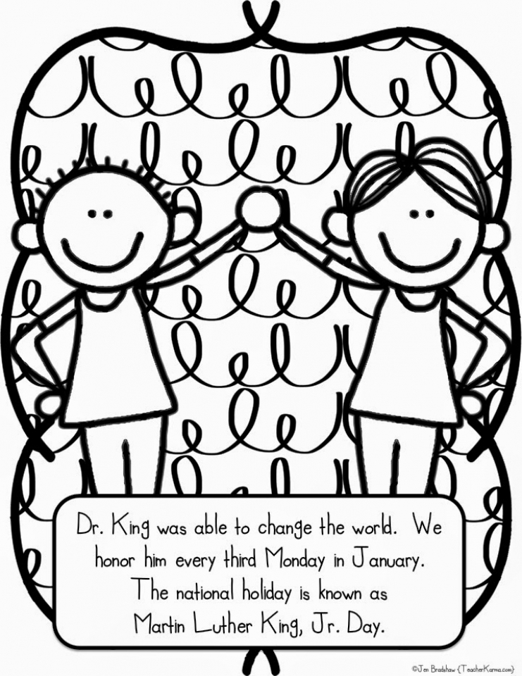 martin luther king jr coloring pages printable - online printable martin luther king jr coloring pages rczoz