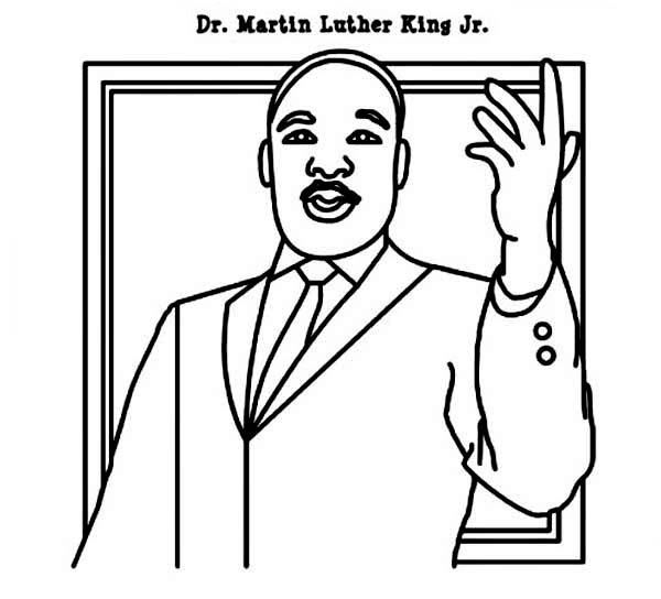 martin luther king jr coloring pages printable - martin luther king printable coloring pages