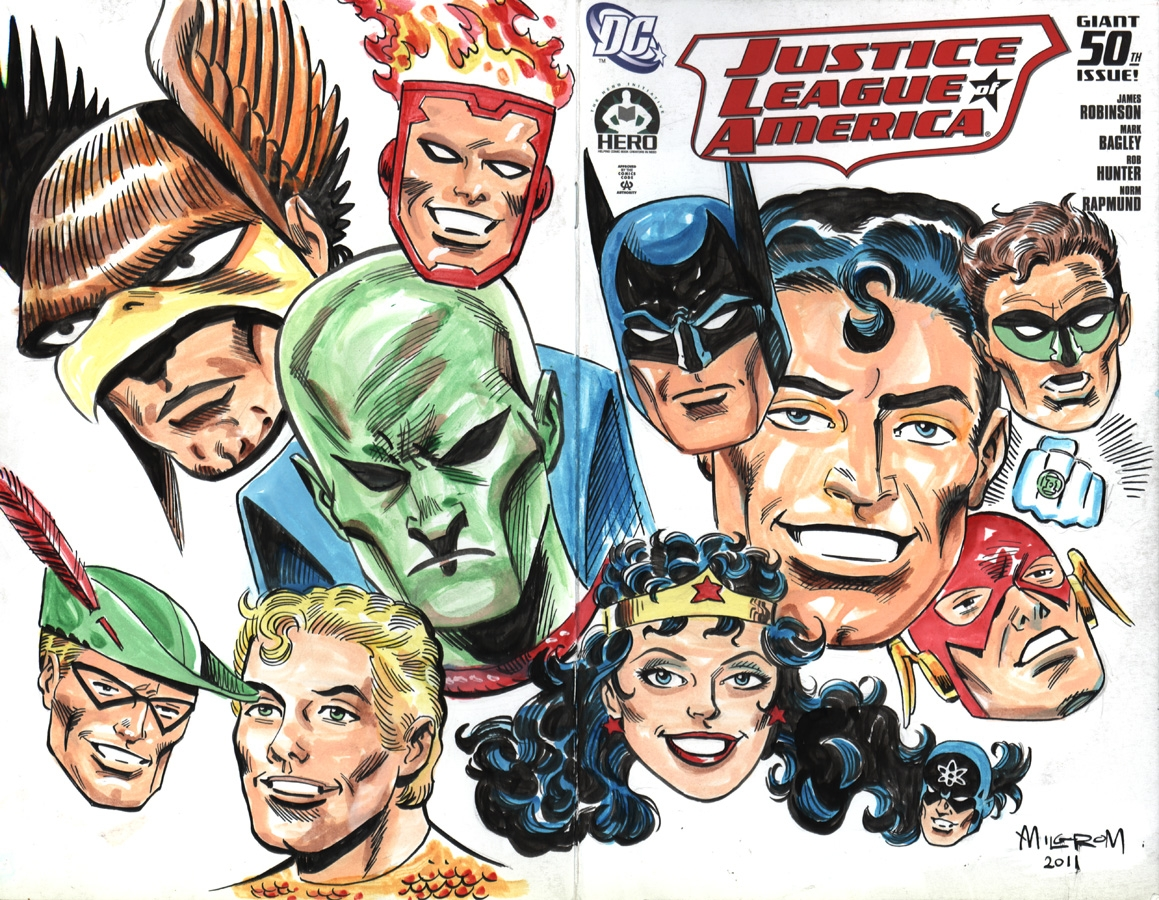 marvel coloring pages - ics art by Al Milgrom