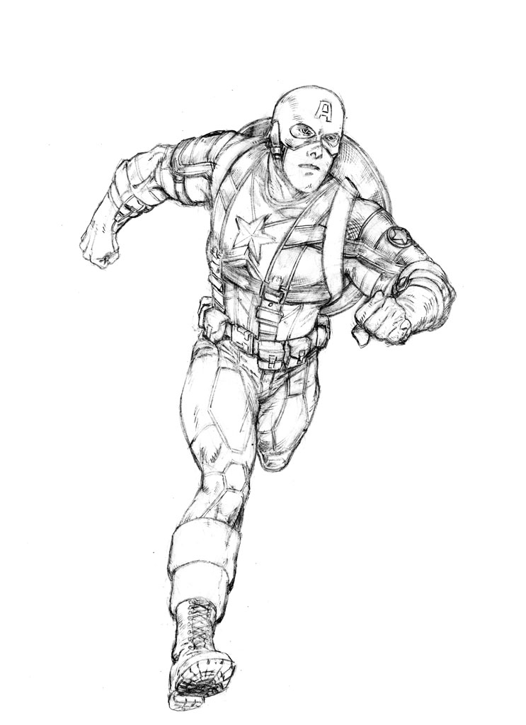 marvel coloring pages - 3