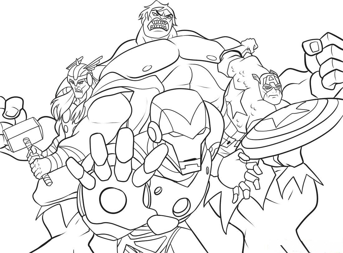 marvel superhero coloring pages - printable marvel super hero coloring pages