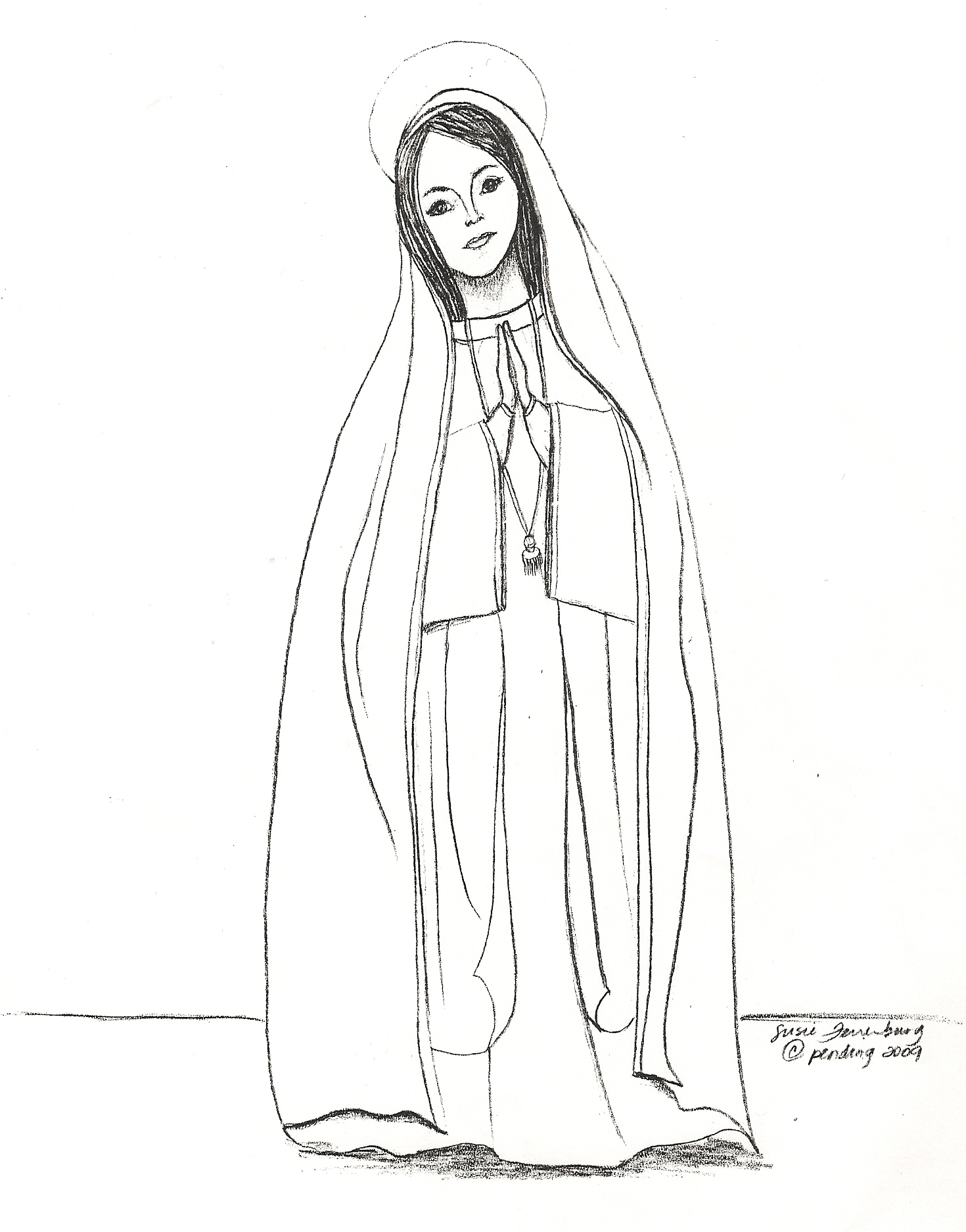 mary coloring pages - Coloring Pages