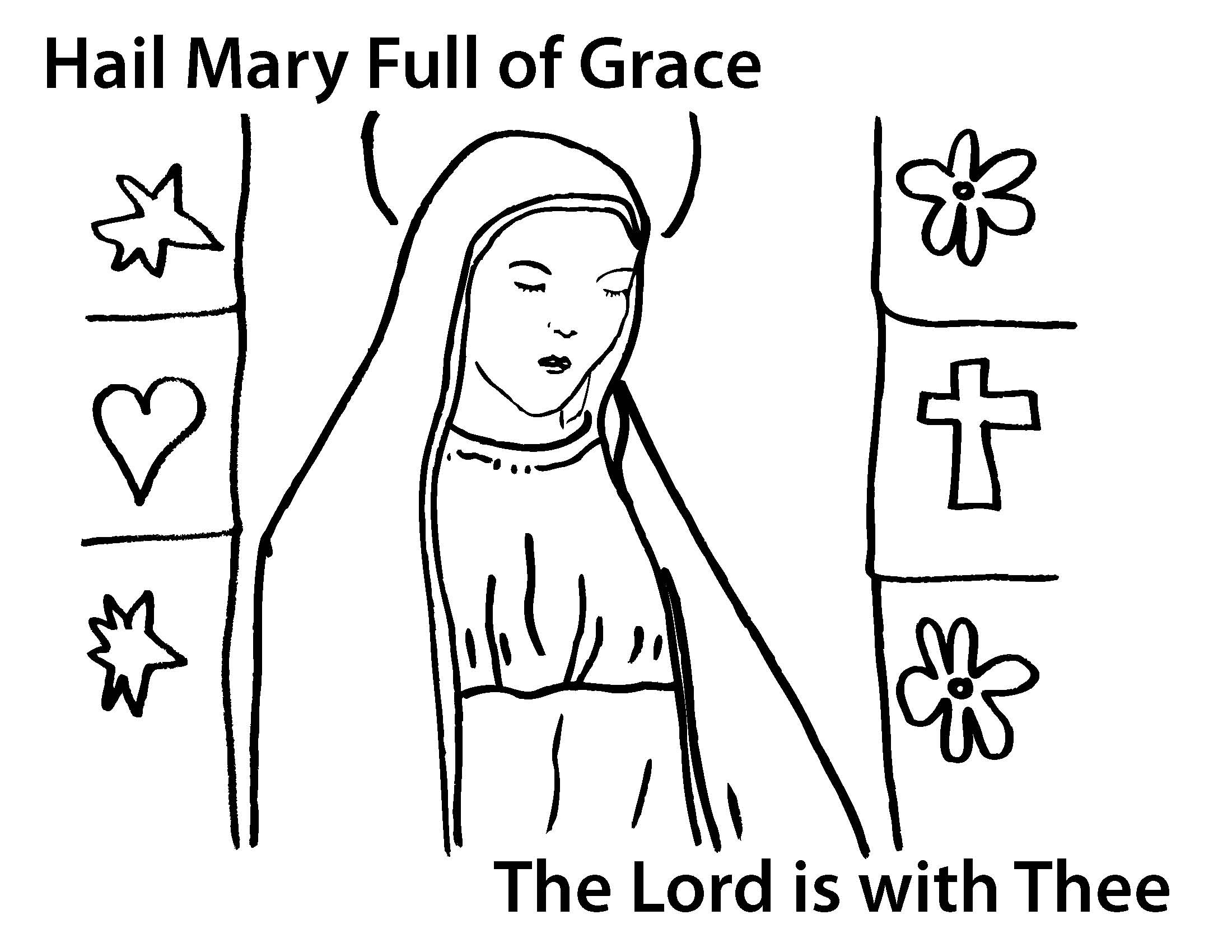 mary coloring pages - mary coloring pages