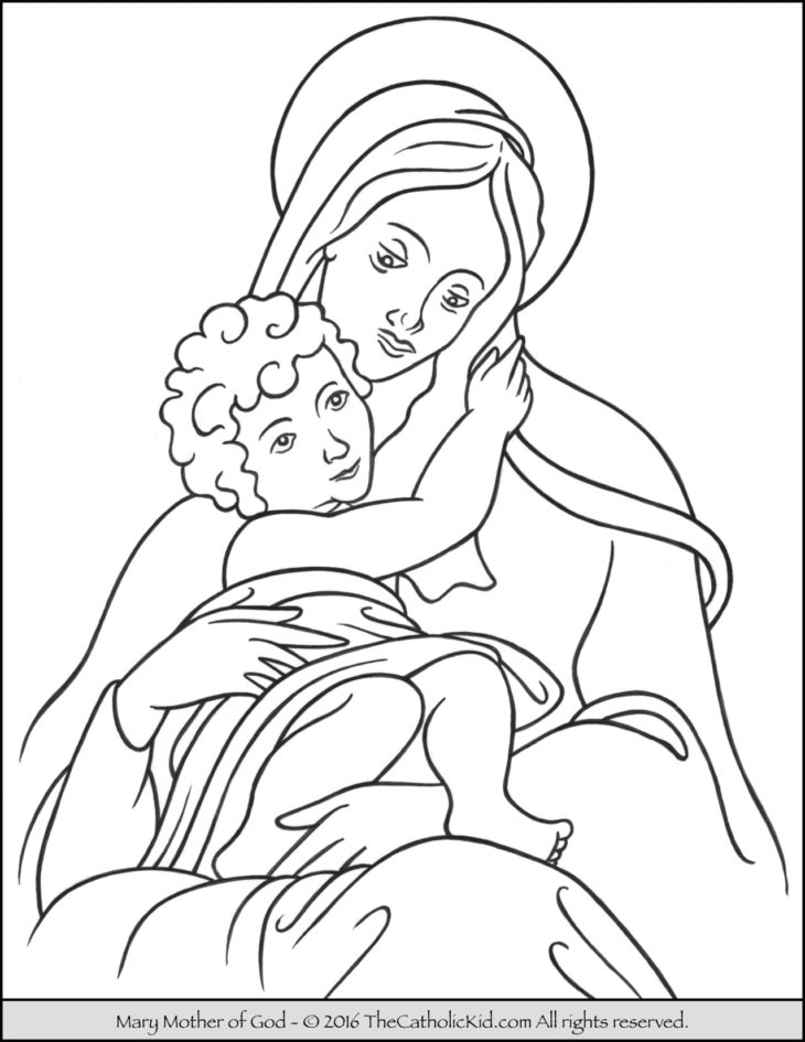 Mary Coloring Pages - the Catholic Kid Catholic Coloring Pages and Games for