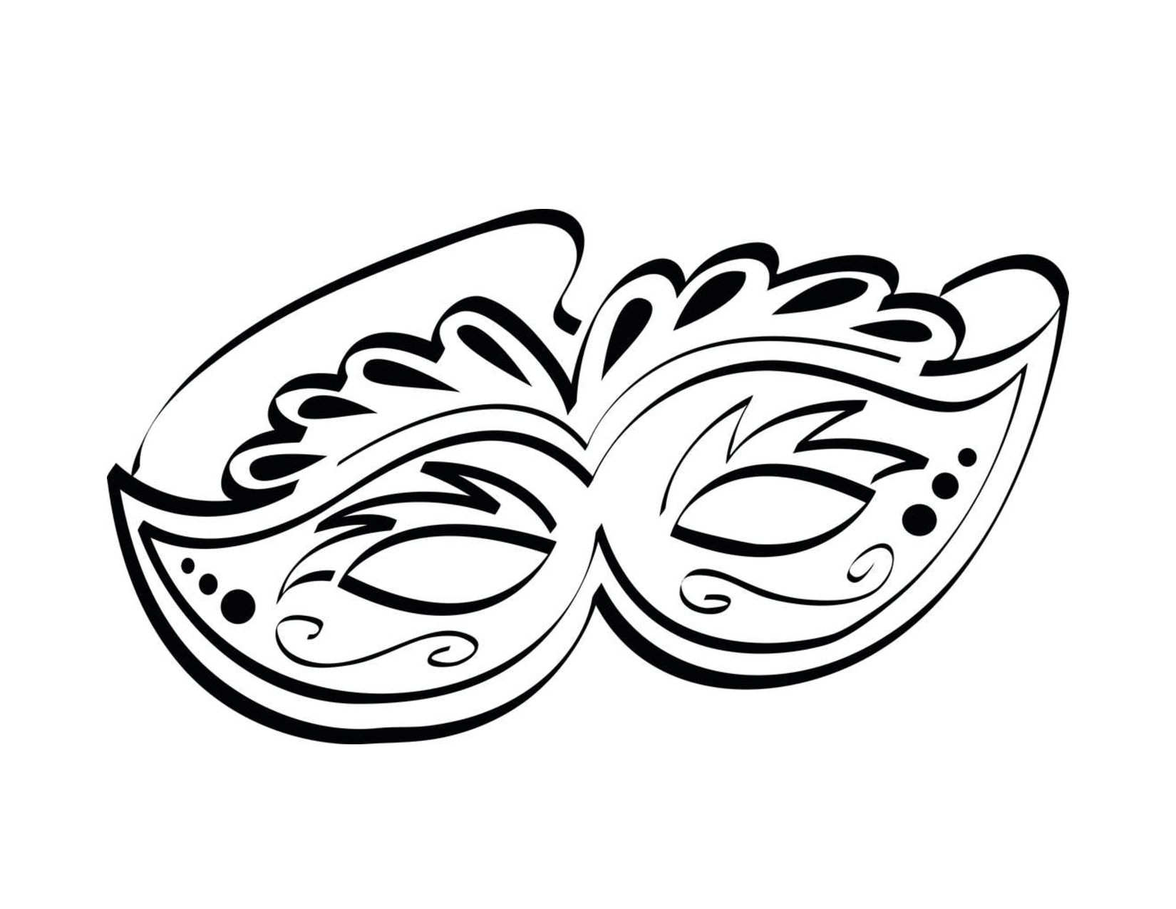 Mask Coloring Pages - Free Printable Mask Coloring Pages for Kids
