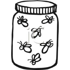 mason jar coloring page - thing id=