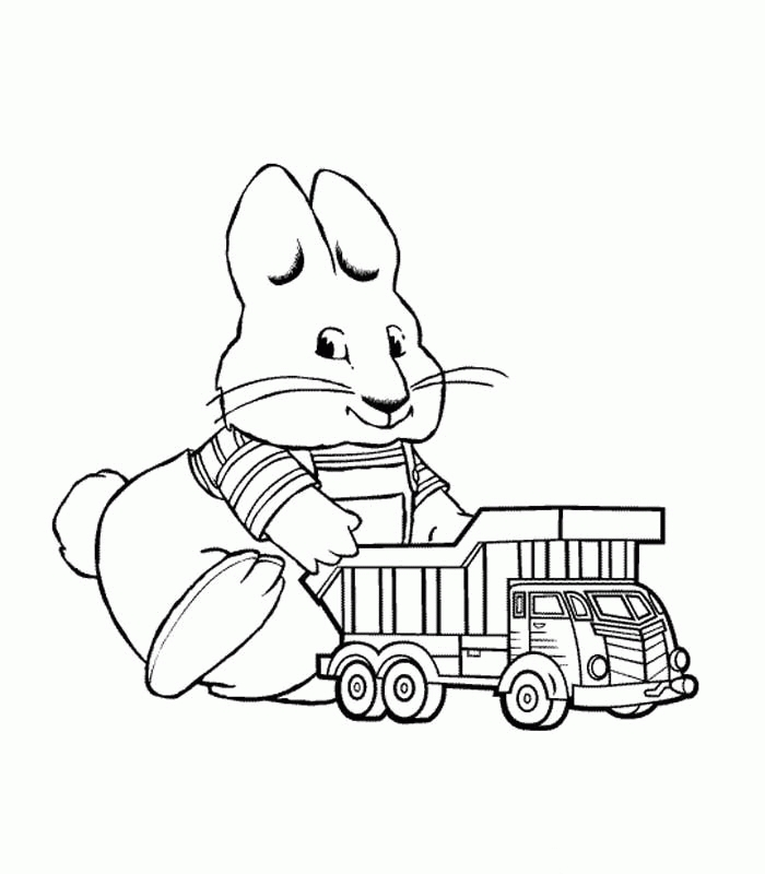 Max and Ruby Coloring Pages - Max and Ruby Coloring Pages Coloringpagesabc