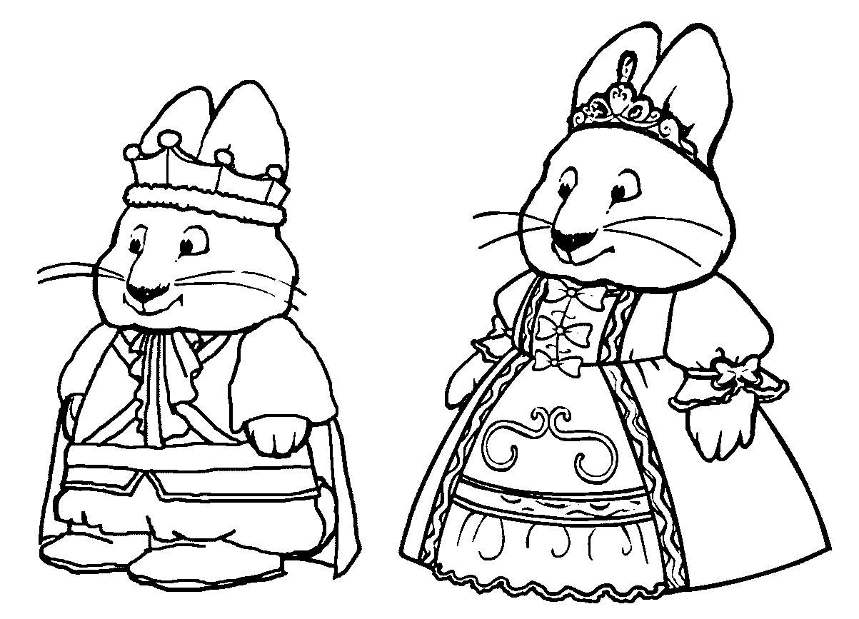 23 Max and Ruby Coloring Pages Collections | FREE COLORING PAGES ...