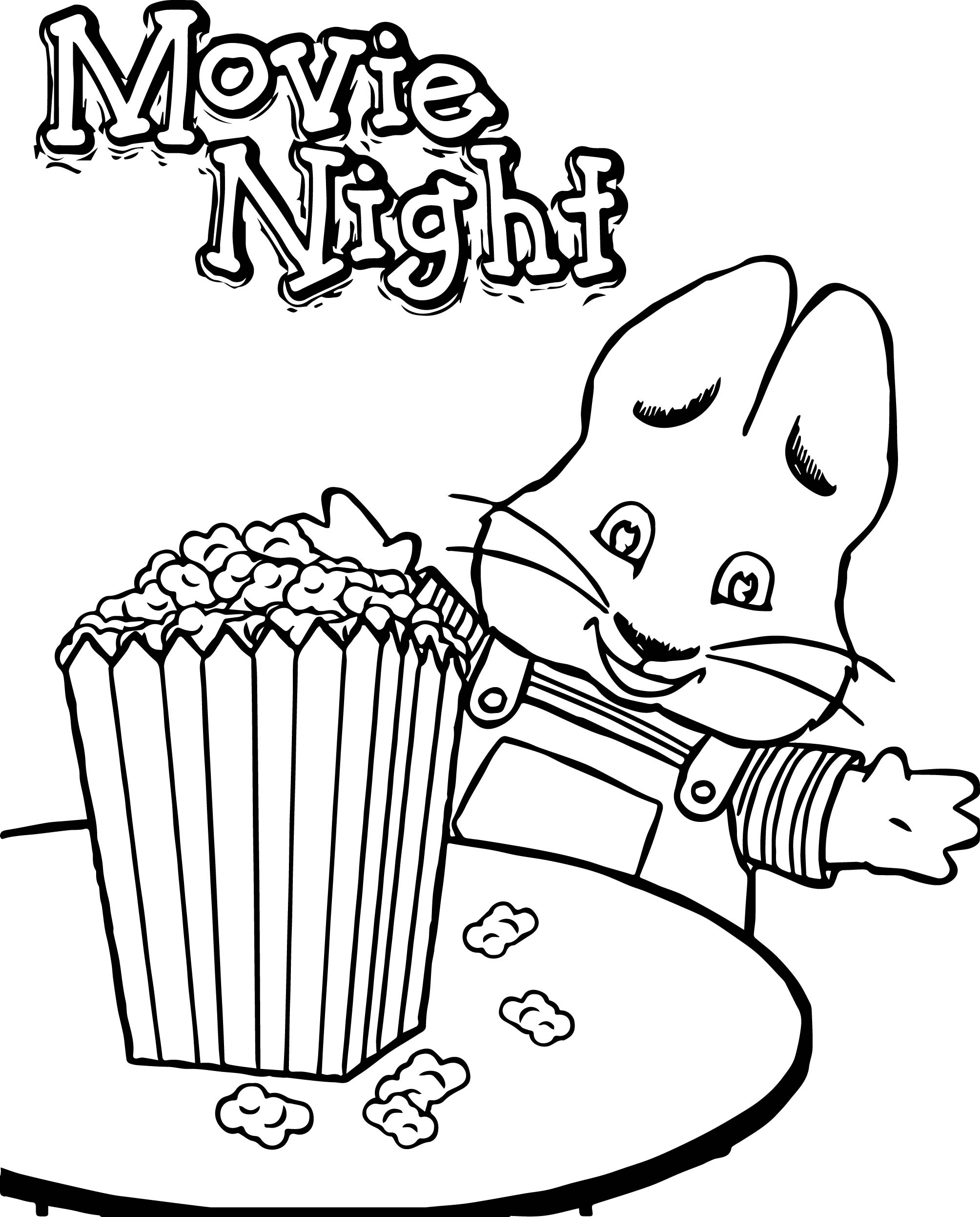 23 Max And Ruby Coloring Pages Collections Free Coloring Pages