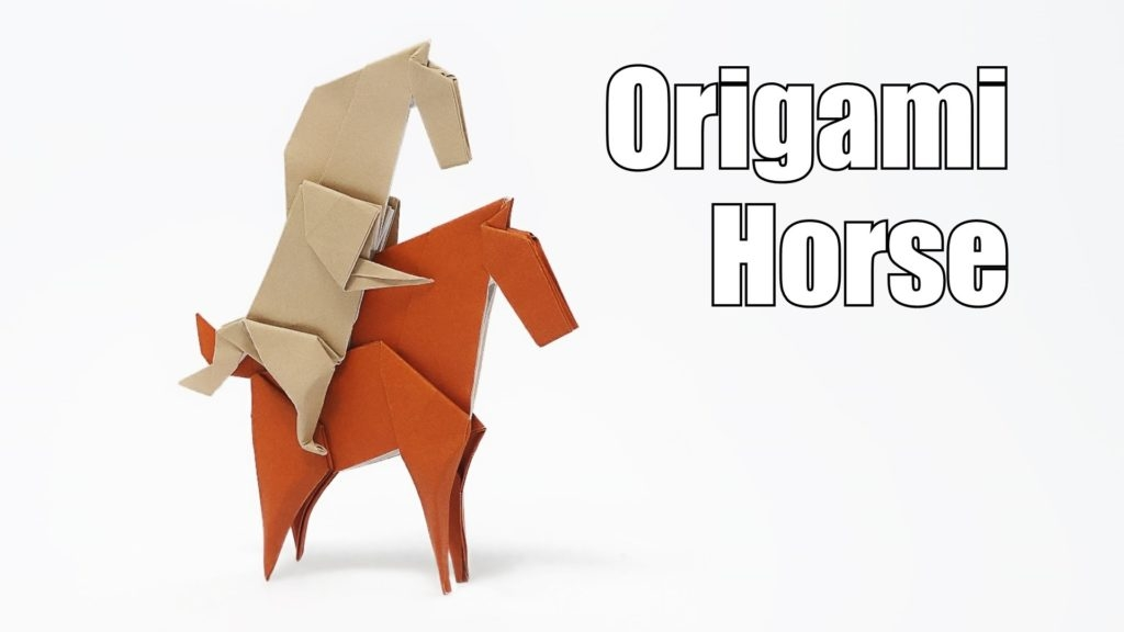 may coloring pages - origami horse jo nakashima youtube
