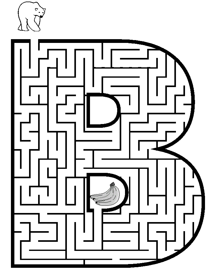 maze coloring pages - 4