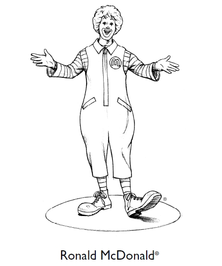 Mcdonalds Coloring Pages - Mcdonalds Logo Coloring Page Coloring Pages