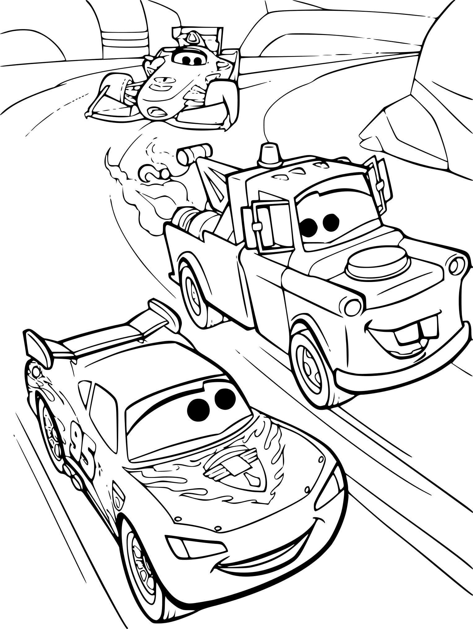 Coloriage A Imprimer Mcqueen.23 Mcqueen Coloring Pages Selection Free Coloring Pages