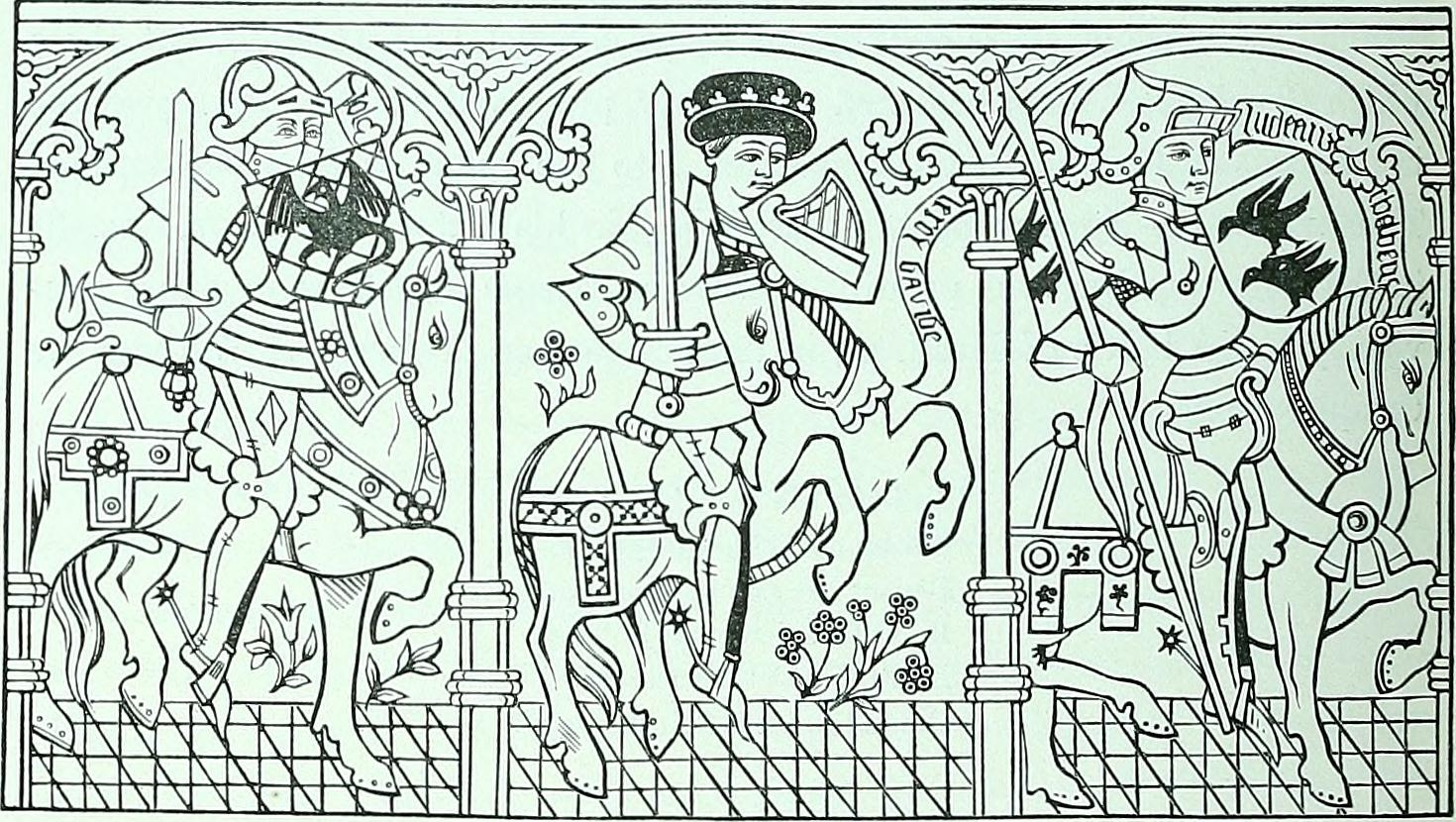 medieval coloring pages - coloring pages about the middle ages