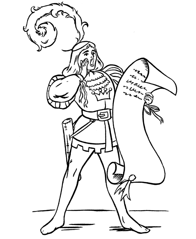medieval coloring pages - q=knight squire