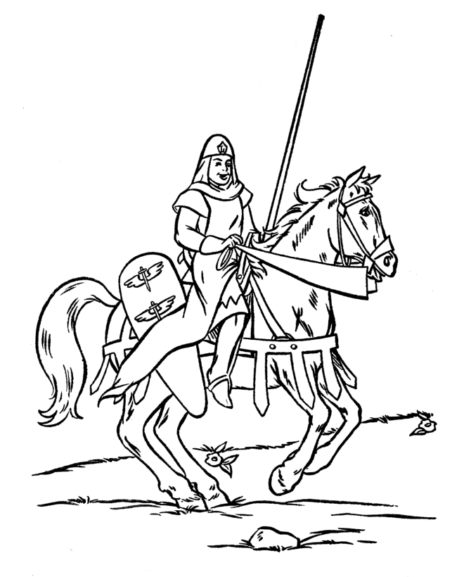 medieval coloring pages - q=me val knights