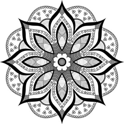 Meditation Coloring Pages - Mandala Meditation Coloring Book by Sterling Publishing Co