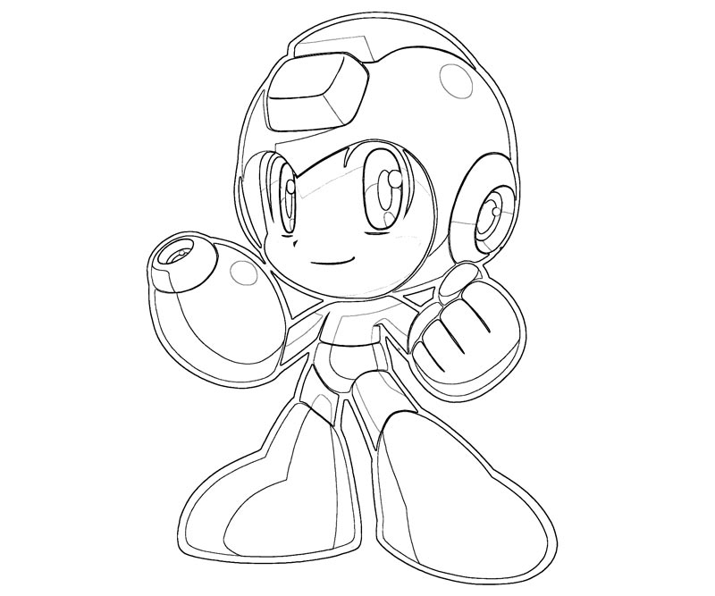 mega man coloring pages - search sbox=megaman&page=1
