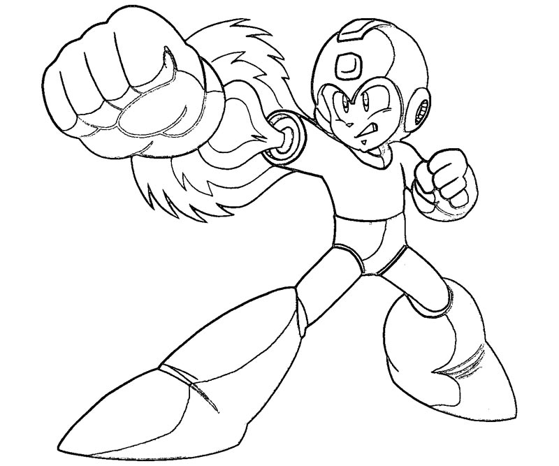 mega man coloring pages - mega man character coloring pages sketch templates