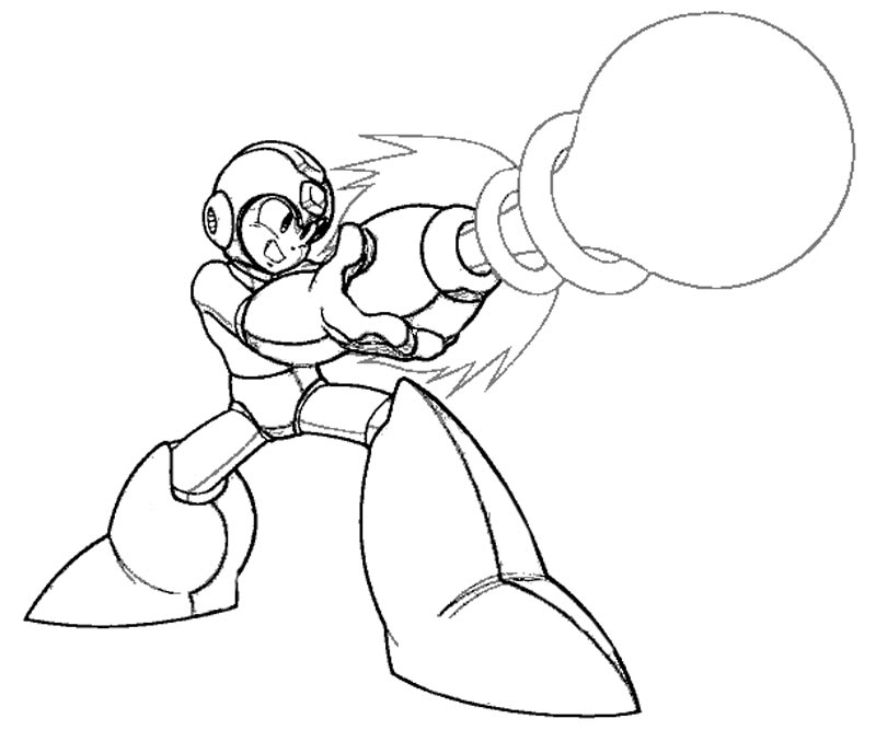 mega man coloring pages - megaman x coloring pages sketch templates