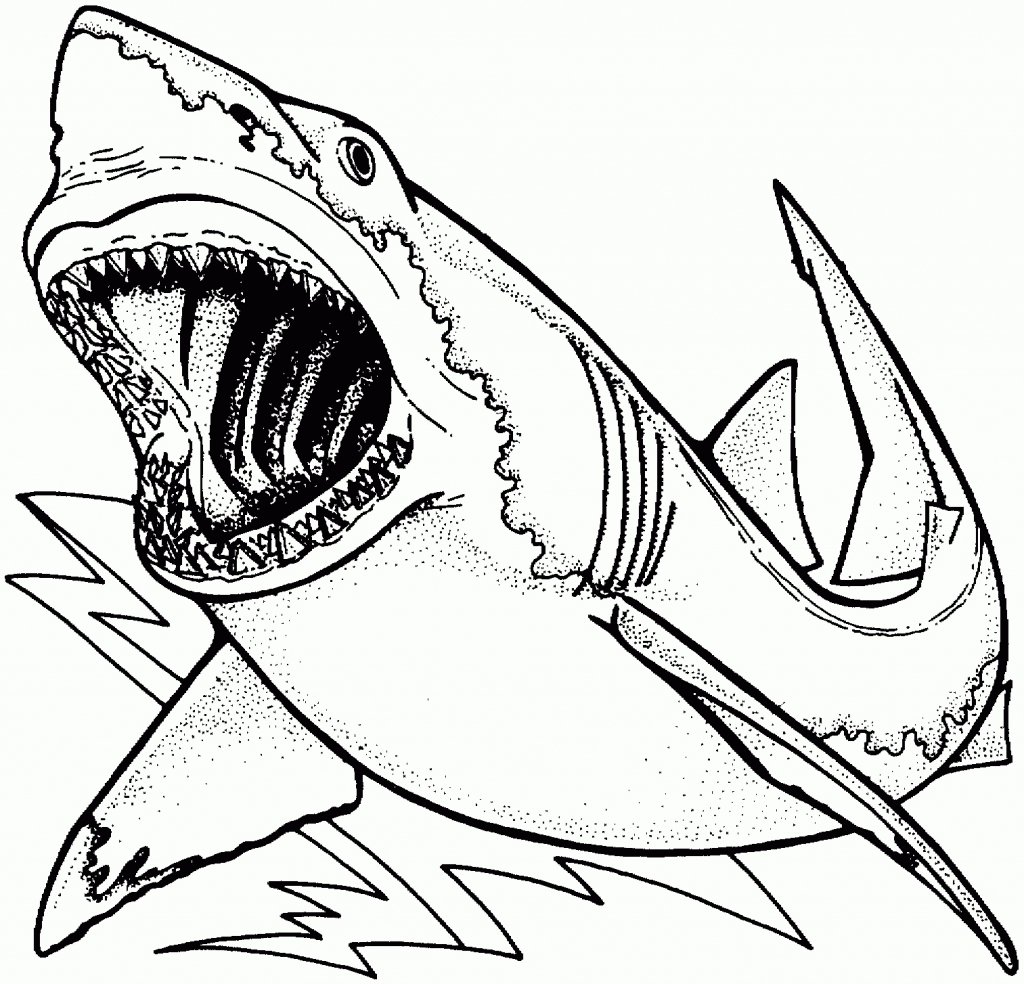 megalodon coloring page - megalodon pages sketch templates