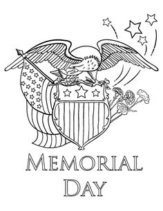 memorial day coloring pages -