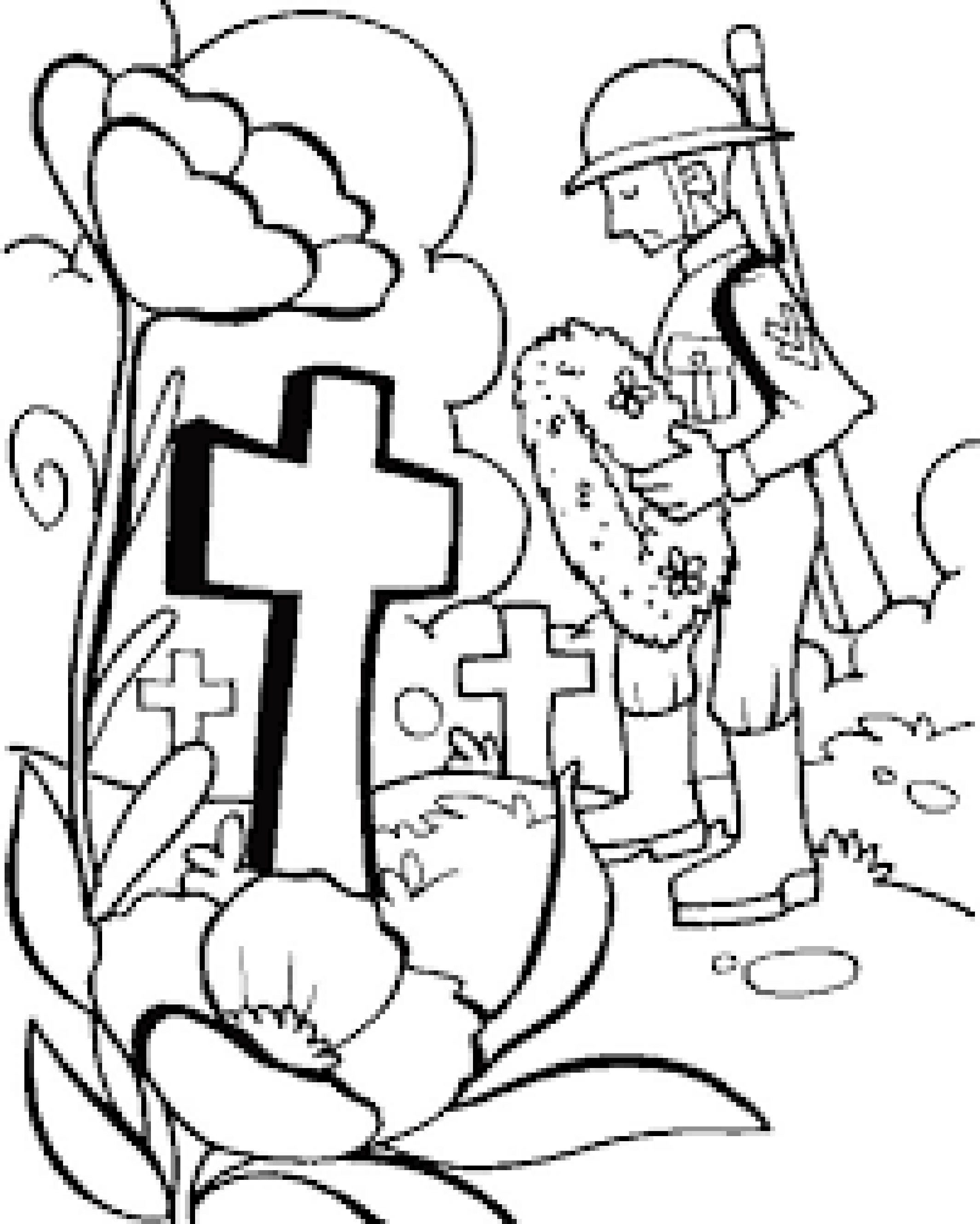 memorial day coloring pages - memorial day coloring page