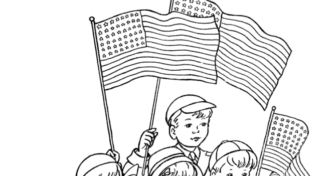 memorial day coloring pages - memorial day printables and coloring